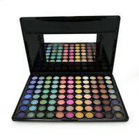 Wholesale Pigment 88 - Wholesale-Hot Pigment Professional 88 Full Color Eyeshadow Palette Shimmer Matte Eye Shadow Makeup Palettes eyeshadow kit Set With Brush
