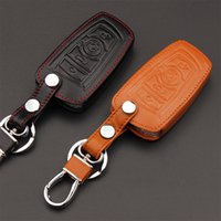 Wholesale Bmw E36 Covers - New Leather Car Key Cover For BMW 1 5 6 7series m3 m5 X1 X3 X5 X6 E36 E39 E30 E60 E92 Etc