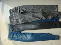 Wholesale Wholesale Corduroy Jeans - slim jeggings jeans leggings for women,fashion women leggings blue black grey by DHL Summer spring wear no real pocket at hip
