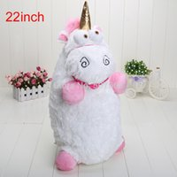 Wholesale Despicable Fluffy Unicorn 22 - Fluffy Despicable Me 22 inch Unicorn Pillow Toy Plush Doll big Fluffy figure gift