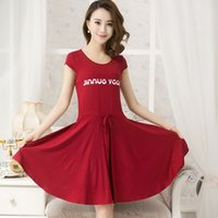 Wholesale Magazine Korean - Free shipping brand slim sexy A Korean Star Magazine sweet 2015 summer dress SEKANSKEEN modal cotton seamless dress causal dress