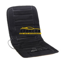 Wholesale Heated Seats Cars - New 12V Car Heated Seat Cushion Cover mats pad Car Heated Seats Black Winter Warmer Cushion car Accessories