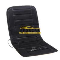 ingrosso sedili riscaldanti-Nuovi tappetini per auto riscaldati 12 V tappetini per auto riscaldati Sedili riscaldati nero invernale Cuscino auto Accessori