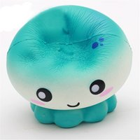 Wholesale Soft Jellyfish - Wholesale- Scent Soft Jellyfish Doll Squishy Charm Slow Rising Simulation Kid Toy Toys Gift17Oct11