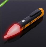 caneta detector de tensão ac venda por atacado-Sem contato AC Elétrica Voltage Alert Detector Sensor Tester Pen 90 ~ 1000 V tester caneta Fedex DHL livre