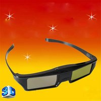 Wholesale Dlp Link Active Shutter 3d - Bluetooth 3D Active Shutter Glasses DLP Link Projectors 3D Glasses For Optoma Sharp LG Acer BenQ Projectors Gafas 3D