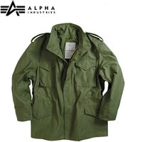 Wholesale Field Windbreaker - Fall-alpha m65 standard m65 jacket mens windbreaker &Warm coats Hunting winter jacket with linner outdoor&field Military