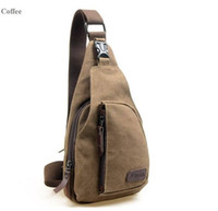 Wholesale Fashion One Shoulder Outdoor Triangle Trend Chest Pack Men and Women Single Backpack Sport Shoulder Chest Bags Canvas Bagpack Bolsas