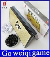 Wholesale Chinese Toy Sales - Child learning & education Chinese checkers folding magnetic board, traditional chess set weiqi go,gobang game toy for boy,adult top sale