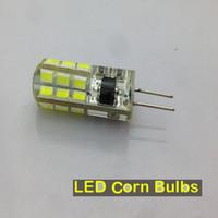 Wholesale Cheap G4 Led Bulbs - LED Corn Bulbs G4 5W 6W CREE SMD 2835 Led Lighting 220V Led Replace 30W Halogen Lamp 360 Beam Angle LED Bulb Cheap Bulb Silicore Maize Bulbs