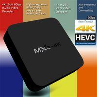 Wholesale Hd Media Player Remote Control - MXQ 4K TV Box Smart Boxes Rockchip RK3229 Fully Loaded H.265 4K 60tps Support HD Media Player Android TV Box Remote Control vs MXQ