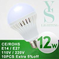Wholesale E27 Led Lamp White - Wholesale SMD 5730 E14 E27 Led Light Bulb 3W 5W 7W 9W 12W 15W 18W LED Lamp 220V 110V Cold Warm White Led Spotlight Lamps A3