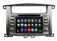 """Wholesale Toyota Land Cruiser Aux - 4-Core 1024*600 Android 4.4 HD 2 din 7"""" Car Radio Car DVD GPS for toyota Lander Cruiser 100 With GPS 3G WIFI Bluetooth IPOD TV USB AUX IN"""