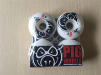 Wholesale Pig Skateboard Wheels - USA GIRL Professional USA Origianal PIG Skateboard Wheels 56mm Wheels Skate Aggressive PU Rodas for Shape Skateboard