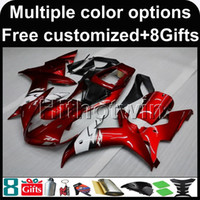 Wholesale Yamaha R1 Body - 23colors+8Gifts RED Body motorcycle cowl for Yamaha YZF-R1 2002-2003 02 03 YZFR1 2002 2003 02-03 ABS Plastic Fairing