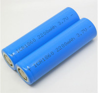 Wholesale Lithium Ion Batterie - Rechargeable Icr 18350 batterie 2200mah lithium ion battery pack 18650 li-ion protected rechargeable aa batteries 3.7v for ecig china man