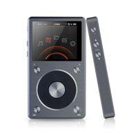 Wholesale Dual Core Resolution - Wholesale-FIIO X5K X5 II Portable High Resolution Losstess HIFI Native DSD Decoding 192k Hz   24bit Digital Dual-Core Hifi Music Player