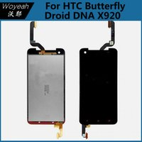 Wholesale Droid Dna Phone - Replacement Full LCD Display Touch Screen Digitizer For HTC Butterfly Droid DNA X920 Cell Phone Parts