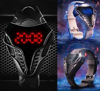Wholesale Cobra Shape - New Waterproof Cobra wristwatch Screen Digital Watches Men Women led watch Male Military Wristwatches sports watch