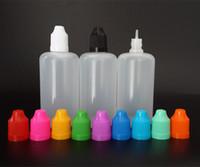 Wholesale Needle Tip Eye Dropper Bottles - 100ml E Juice Bottles PE Dropper Bottles with Child Proof caps and Needle Tips for E liquid and Eye Drop