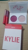 Wholesale Valentines Love Letters - 2017 Newest Kylie 2 Colors Eyeshadow main squeeze and sweet thing,poison and in love,love letter and baby For valentine Gift Ship Free