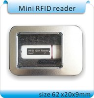 Envío gratis Newset Mini USB 125KHZ RFID Reader para iPad Android Mac Windows Linux 10bit salida + 10pcs tarjetas