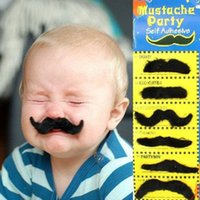 Wholesale Moustache Party Self Adhesive Fake Beard Self Adhesive Mustaches Set Self Adhesive Set of Stylish Costume Fancy Party Fake Mustache