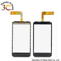 Wholesale Incredible S Touch - Wholesale-Touch Screen glass Digitizer capacitive touchscreen Replacement for HTC G11, S710e Incredible S Cell Phones free shipping