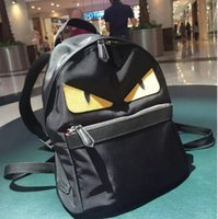 Wholesale Cloth Cross Body Bags Women - new yeeuas small monster cowhide shoulder bag computer backpack Oxford cloth men and women outdoor travel large capacity backpack