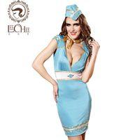 Wholesale Lingerie Sailor Costume - Leeches Q891 Latex Women Lingerie Sexy Hot Erotic Cosplay Uniform Prospective Sailor Suit Temptation Lenceria Porn Sexy Shop