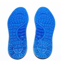 Wholesale Foot Massage Shoes - 1 pair Insoles for Shoe Orthotic Arch Support Massaging Silicone Anti-Slip Gel Soft Sport Insole Pad Foot Care Gel Insole