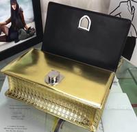 Wholesale Miss Handbags - Luxury Miss Bag Genuine Leather Desinger Bag Famous Brand Fashion Women Christian Handbag Flap Shoulder Flap Bag D217