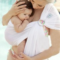 Wholesale Swing Back Baby - Breathable Baby Slings Quick Dry Design Baby Carriers Soft Material Comfortable Water Beach Pool Wrap Swing Baby Sling Carrier