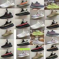 Wholesale Outdoor Waterproof Box - 2017 kanye west shoes V2 Sply 350 Boost men's shoes Glow In The Dark Orange Stripe black Running Shoes[with original box]