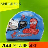 spider scooter - spider man Child Children helmet cyling racing motorcycle helmets motorcross protector safety helmets scooter S size