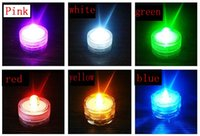 LED Waterproof Candle Light Aquarium Cilindro Lens Coffee Hall Bar Festa Jantar Banquete Waterproof Electronic Candle Light Diving Light Chri