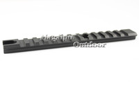 """Wholesale Aluminum Scope Mounts - Free shipping-20mm Aluminum Alloy Picatinny Weaver Rail Mount 13 Slots"""" 155mm Mount For Rifle Scope Hunting Gun Accessories"""