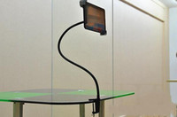 Wholesale Iron Seats - Gooseneck Flexible Long Arm Seat Desk Bolt Clamp Mount Bracket Holder with 360 Degrees Easy-Adjust For Ipad Tablet PC