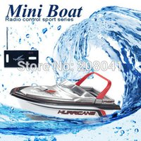 Wholesale New Rc Boat Brand - Brand New RC Boat Happy Cow 777-218 Remote Control Mini RC Racing Boat Model Speedboat with Original Package Kid Gift