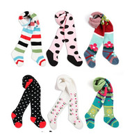 Wholesale Lowest Baby Girl Tight - Wholesale-Lowest Fashion ballet tights leotard for girls baby cotton pantyhose skinny stocking pants for toddler free shipping