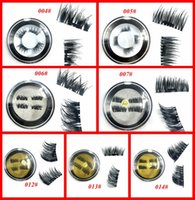 Wholesale Long Eyelashes Glue - Magnetic Eyelashes 3D Mink handmade lashes no glue easy remove False Eye Lashes Extension Super Natural Long Fake Eyelashes free shipping