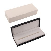 Wholesale Gift Box For Pencil - Black and White Luxury MB Pen Box For Fountain Pen Roller ball Pen Ballpoint Pens Gift Pen Case Free Shipping