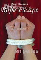 Wholesale Magic Tricks Rope - Tony Clark - In and Out Rope Escape ,magic trick,send by email