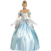 Wholesale New arrival Hot selling sexy Halloween clothing high grade Cinderella Cocktail cosplay Special offer woman clothing