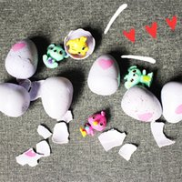 Cartoon Dinosaur Eggs Hatching Toys Criativo Funny Magic Surprise Egg Toy Crianças New Year Gift 4 99yh C
