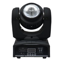 Wholesale Lamp Mini Led Moving Head - 40W Mini Led Moving Head Beam light RGBW Quad Color 40W LED LAMP Disco Light Led Dj Effect Light Stage lighting