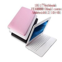 Wholesale Wholesale Laptops Netbooks - The new 2015 8880 dual-core 8850 netbooks 10 inch learn the netbook laptop computers, now in Europe and the United States sell!