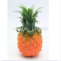 ev dekor ananas toptan satış-1 adet Yapay Ananas Sahte Meyve Sahte Gıda Ev Mutfak Dekor Fotoğraf Sahne Yapay Çiçek