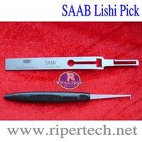 Wholesale Saab Locksmith Tools - Lishi SAAB Pick Genuine Lishi Pick LOCKSMITH TOOLS lock picks set.door lock opener padlock tool
