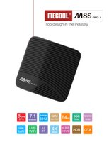 Amlogic S912 Android 7.1 TV Box Mecool M8S Pro L 3 GB 32 GB Octa Core Netflix Dual Band Wifi Youtube 4K Media Player KD17.3